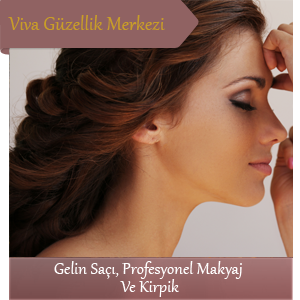 Gelin Saçı Profesyonel Makyaj ve Kirpik